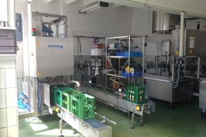 2012-2016 Es wurden umfangreiche Umbau- und Modernisierungsarbeiten an Lager- und Produktionsgebäuden durchgeführt sowie neue Technik an der Flaschenabfüllanlage eingebaut.